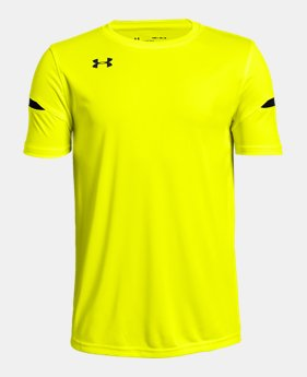 2be95e3da2 Boys' Yellow Kids (Size 8+) Short Sleeve Shirts | Under Armour US