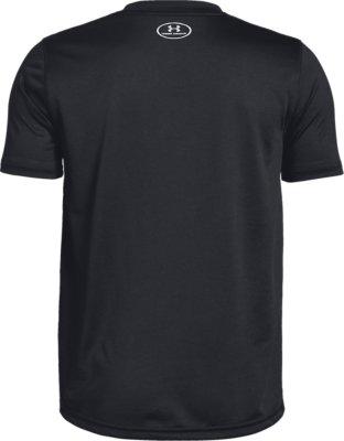 Under Armour Boys UA Crossfade T-Shirt 1331684-001 Black//Gray Multi Sizes NWT