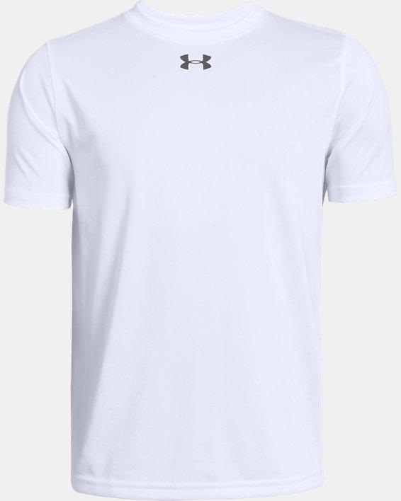 Boys' UA Locker T-Shirt, White, pdpMainDesktop image number 0