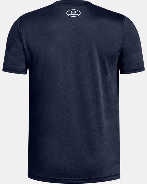 Boys' UA Locker T-Shirt, Navy, pdpMainDesktop image number 1