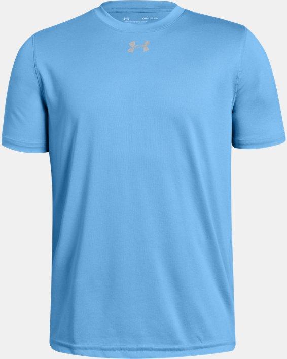 Boys' UA Locker T-Shirt, Blue, pdpMainDesktop image number 0