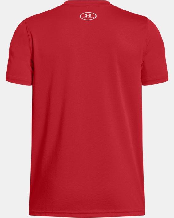 Boys' UA Locker T-Shirt, Red, pdpMainDesktop image number 1