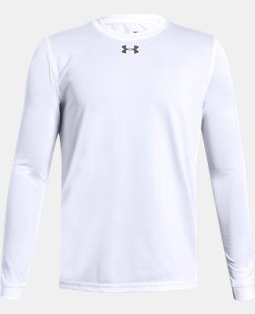 Boys' UA Locker Long Sleeve  7  Colors Available $28