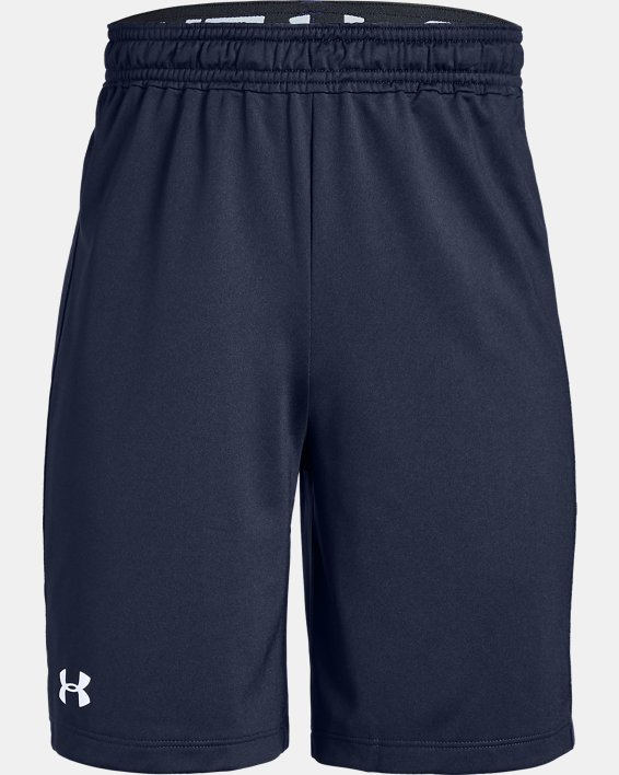 Boys' UA Raid 2.0 Shorts, Navy, pdpMainDesktop image number 0