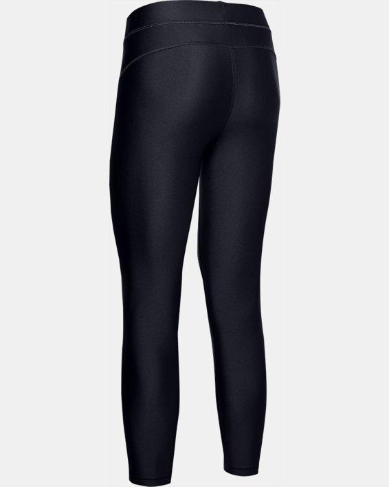 Women's HeatGear® Armour Ankle Crop, Black, pdpMainDesktop image number 5