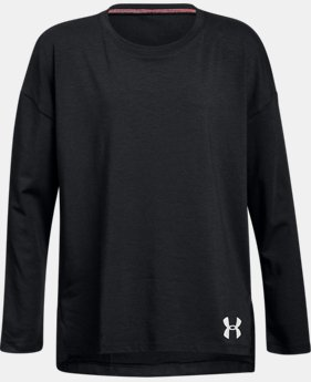 Girls' UA Finale Long Sleeve  1  Color Available $30