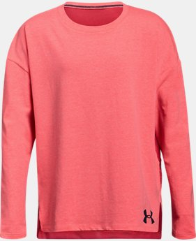 Girls' UA Finale Long Sleeve  2  Colors Available $30