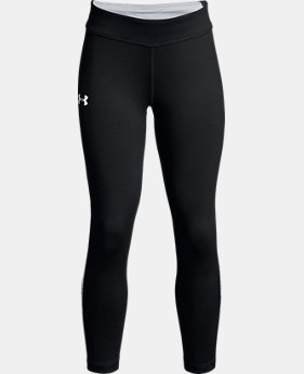 New Arrival  Girls' UA Finale Capris LIMITED TIME: FREE SHIPPING  $45