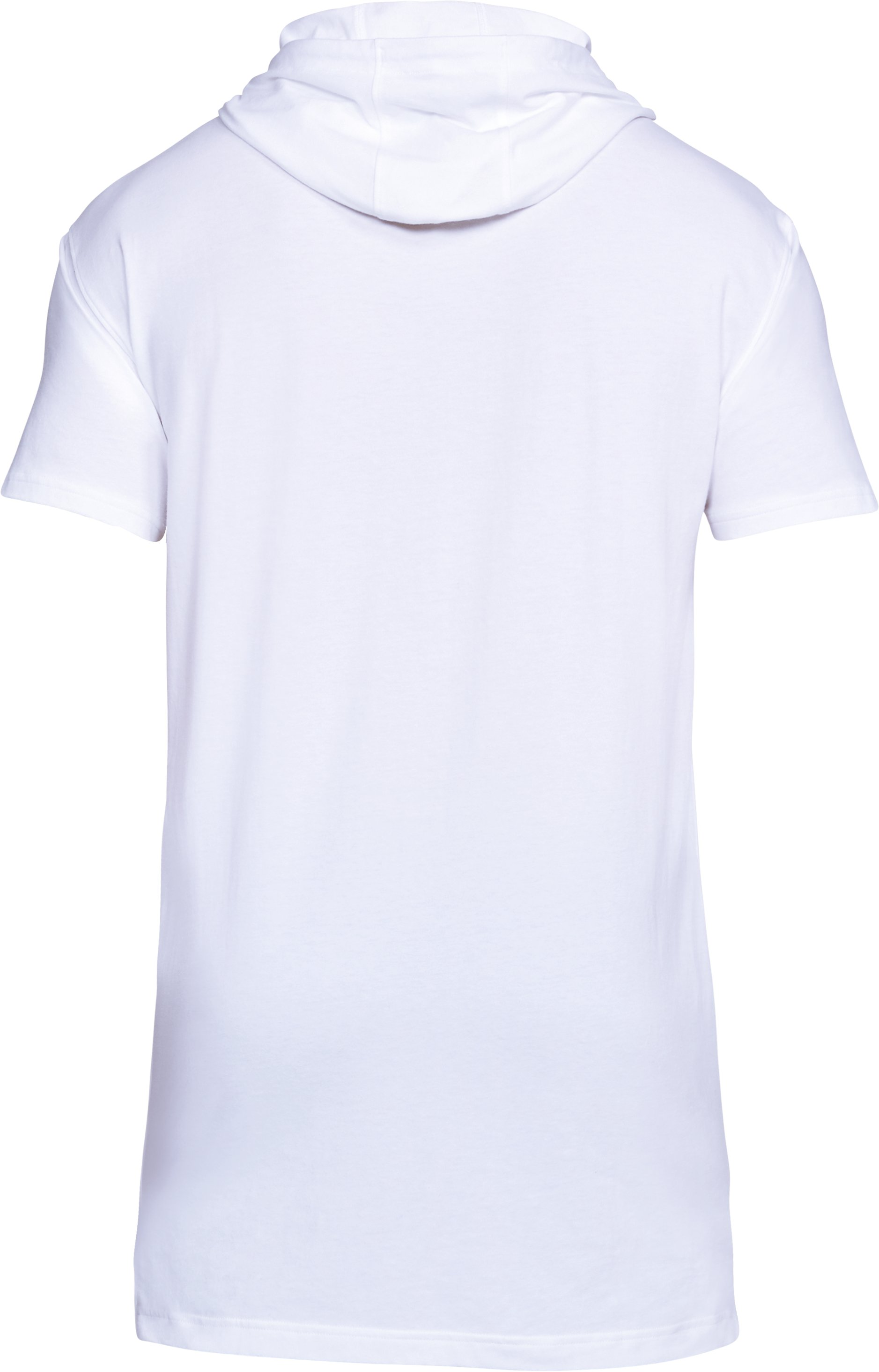 Men's SC30 Short Sleeve Hooded T-Shirt, White,