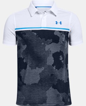 Boys' UA Bunker Polo  1  Color Available $40