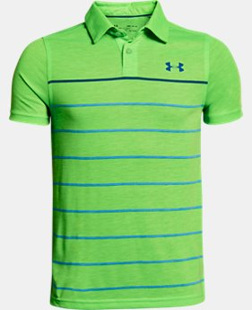 Boys' UA Bunker Polo LIMITED TIME: FREE U.S. SHIPPING 4  Colors Available $40
