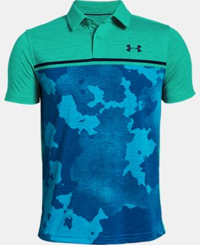 Boys' UA Bunker Polo  1  Color Available $45
