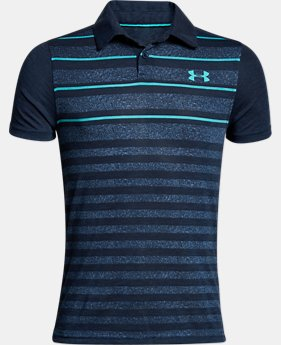 New Arrival  Boys' UA Bunker Polo  3 Colors $45