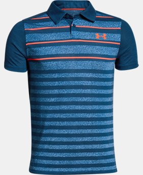 Boys' UA Bunker Polo  3  Colors $45