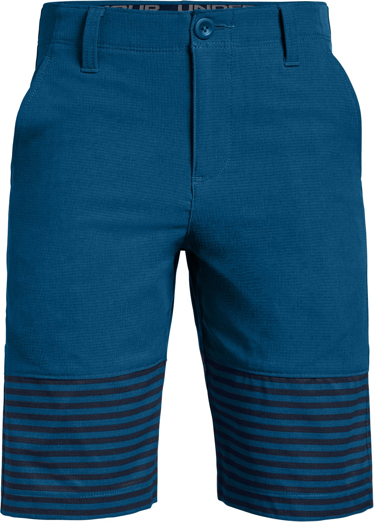 Boys' UA Match Play Vented Shorts, MOROCCAN BLUE,
