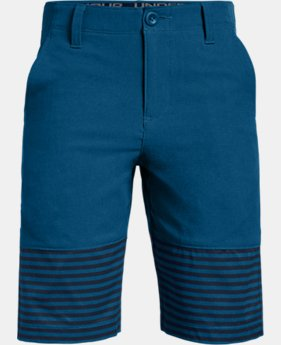 New Arrival Boys' UA Match Play Vented Shorts  3  Colors Available $50