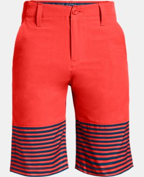 New Arrival Boys' UA Match Play Vented Shorts  1  Color $50