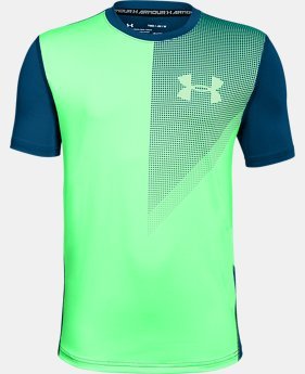 Boys' UA Raid Short Sleeve FREE SHIPPING 1  Color Available $25