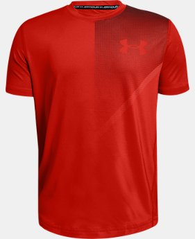 Boys' UA Raid Short Sleeve  1  Color Available $18.75 to $25