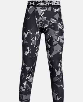 Best Seller Boys' HeatGear® Armour ¾ Printed Leggings  3  Colors Available $34.99