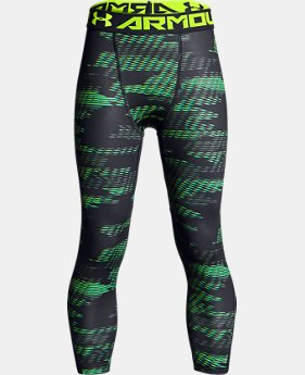 Best Seller Boys' HeatGear® Armour ¾ Printed Leggings   $34.99