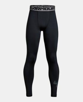 f17679ed67 New to Outlet Boys' ColdGear® Armour Printed Leggings 1 Color Available  $33.99