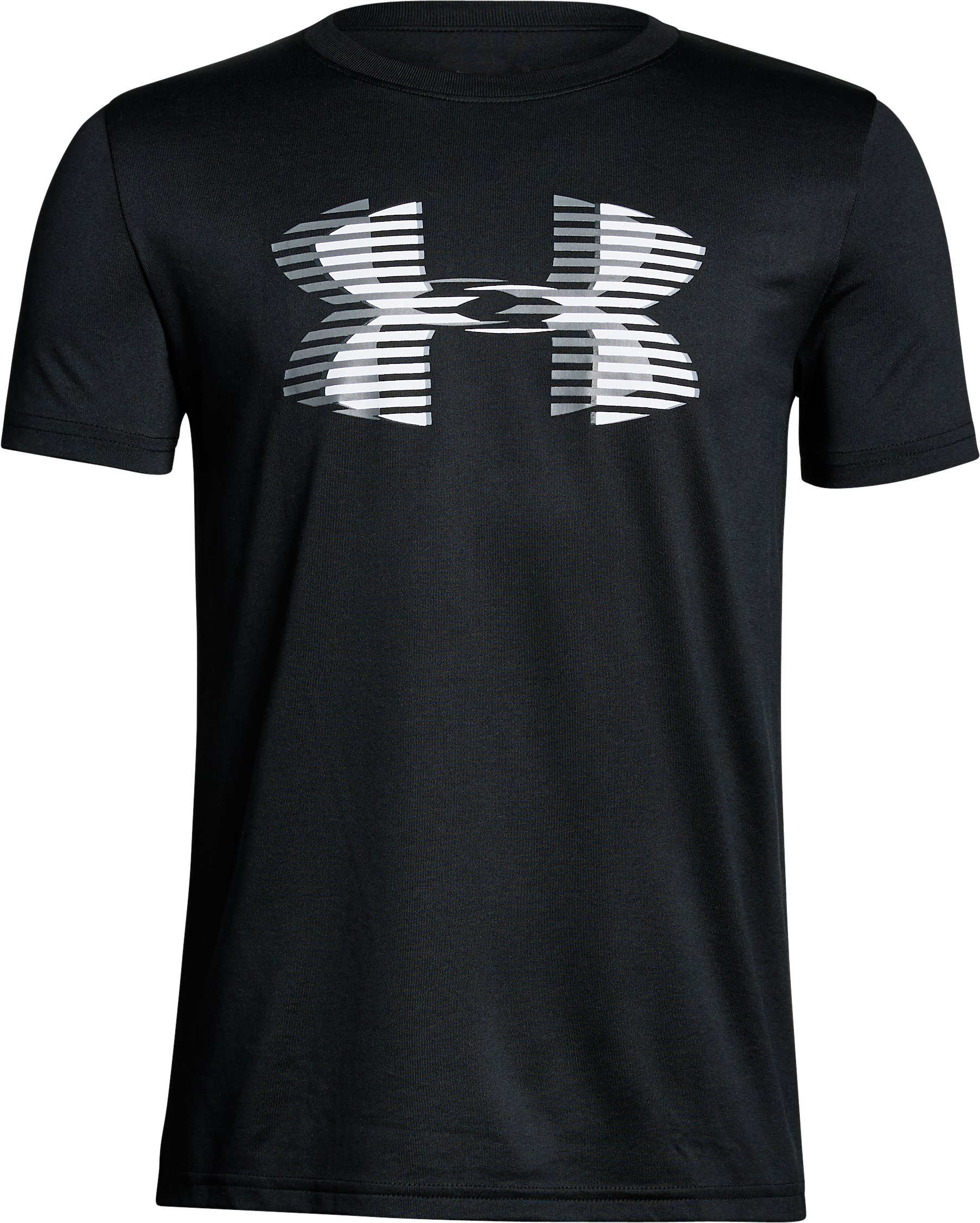 Boys' UA Tech™ Big Logo Solid T-Shirt 4 Colors $15.00