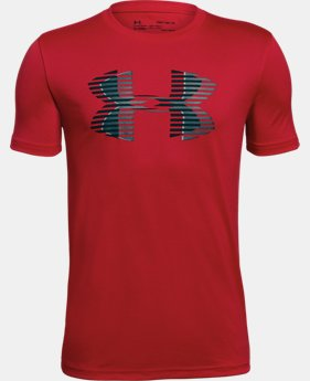 Boys' UA Tech™ Big Logo Solid T-Shirt LIMITED TIME: FREE U.S. SHIPPING 2  Colors Available $20