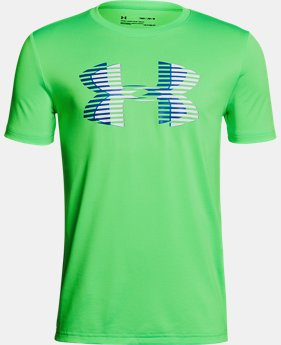 Boys' UA Tech™ Big Logo Solid T-Shirt  1  Color Available $15