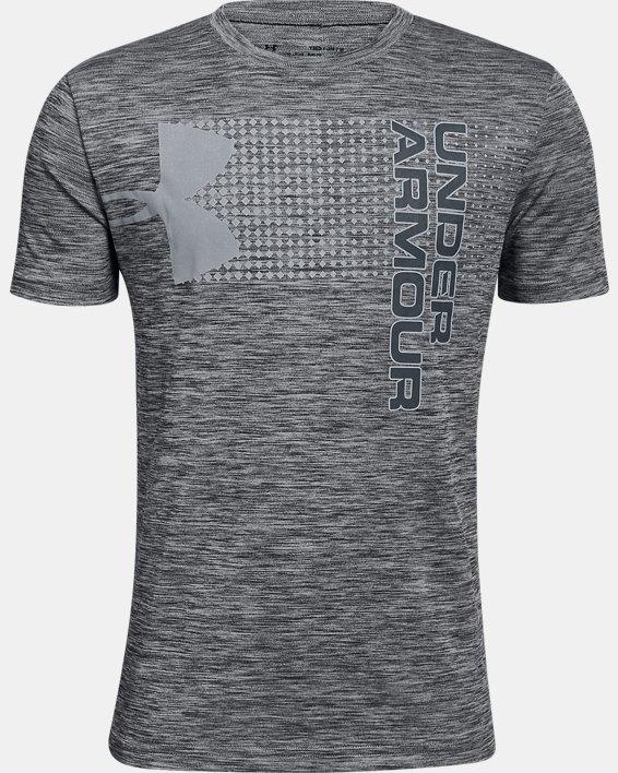 Boys' UA Crossfade T-Shirt, Black, pdpMainDesktop image number 0