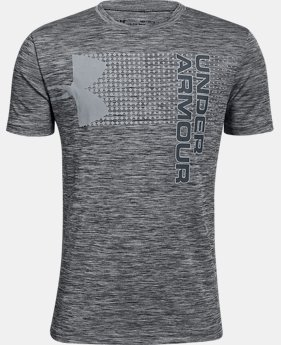 Boys' UA Crossfade T-Shirt FREE U.S. SHIPPING 6  Colors Available $20