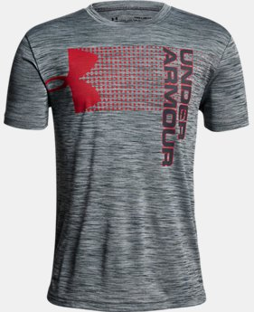 New Arrival Boys' UA Crossfade T-Shirt  2 Colors $25