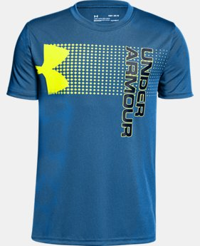 Boys' UA Crossfade T-Shirt  3  Colors $20