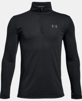 New Arrival Boys' UA Siro ¼  Zip  1 Color $40