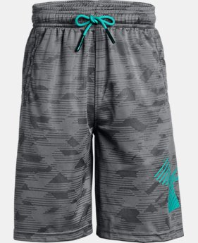 Boys' UA Renegade Jacquard Shorts  1  Color Available $22.5