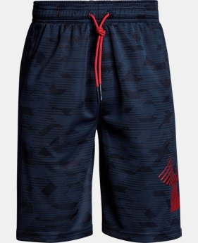 Boys' UA Renegade Jacquard Shorts  1  Color $35