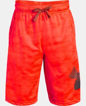 Boys' UA Renegade Jacquard Shorts  3  Colors Available $22.5