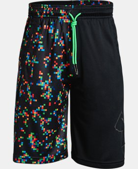 Boys' UA Renegade Printed Shorts  3  Colors Available $22.5