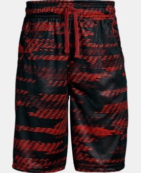 Boys' UA Renegade Printed Shorts  2  Colors Available $30