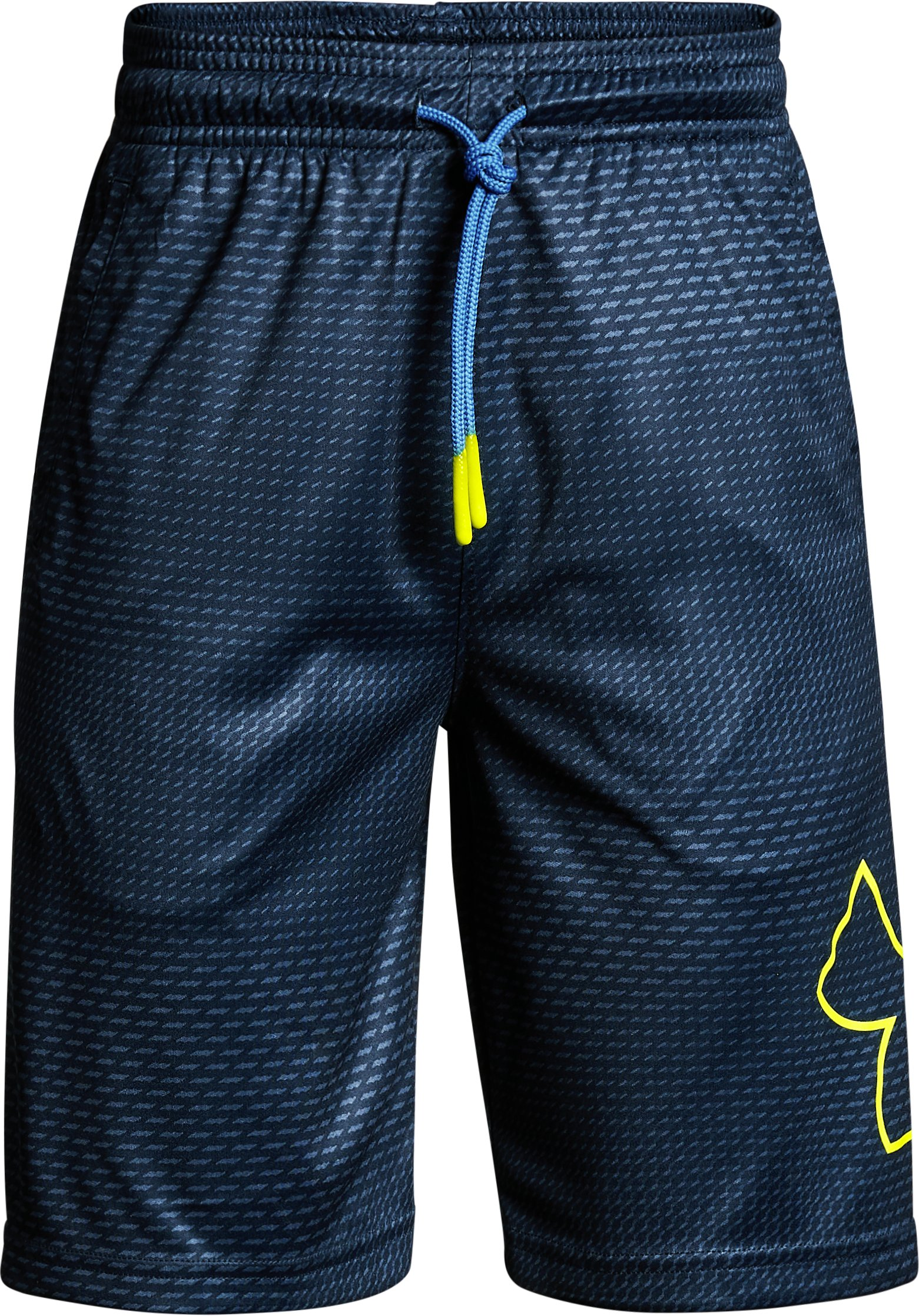 Boys' UA Renegade Printed Shorts, Academy,