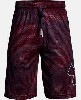 New Arrival Boys' UA Renegade Printed Shorts LIMITED TIME: FREE U.S. SHIPPING 2 Colors $30
