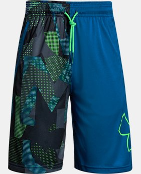 Boys' UA Renegade Printed Shorts  6 Colors $30