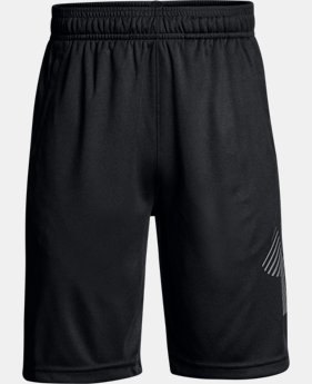 Boys' UA Renegade Solid Shorts LIMITED TIME: FREE SHIPPING 1  Color Available $30