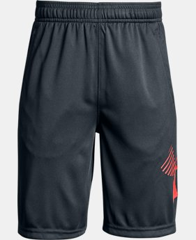 Boys' UA Renegade Solid Shorts  2  Colors Available $18.75
