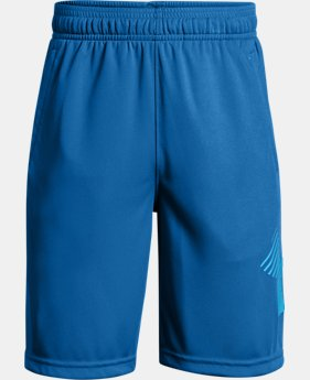 Boys' UA Renegade Solid Shorts  1  Color Available $25