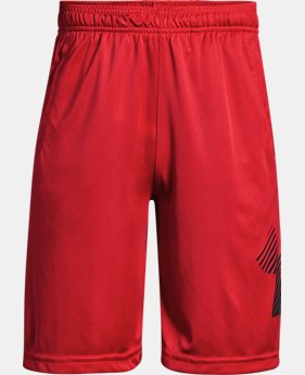 Boys' UA Renegade Solid Shorts FREE U.S. SHIPPING 5  Colors Available $25