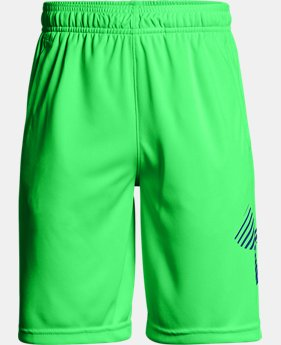 Boys' UA Renegade Solid Shorts  1  Color Available $30