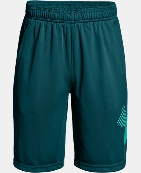 Boys' UA Renegade Solid Shorts  4  Colors Available $18.75