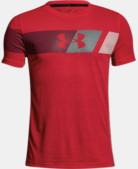 New Arrival Boys' UA Threadborne Tech T-Shirt  1 Color $28