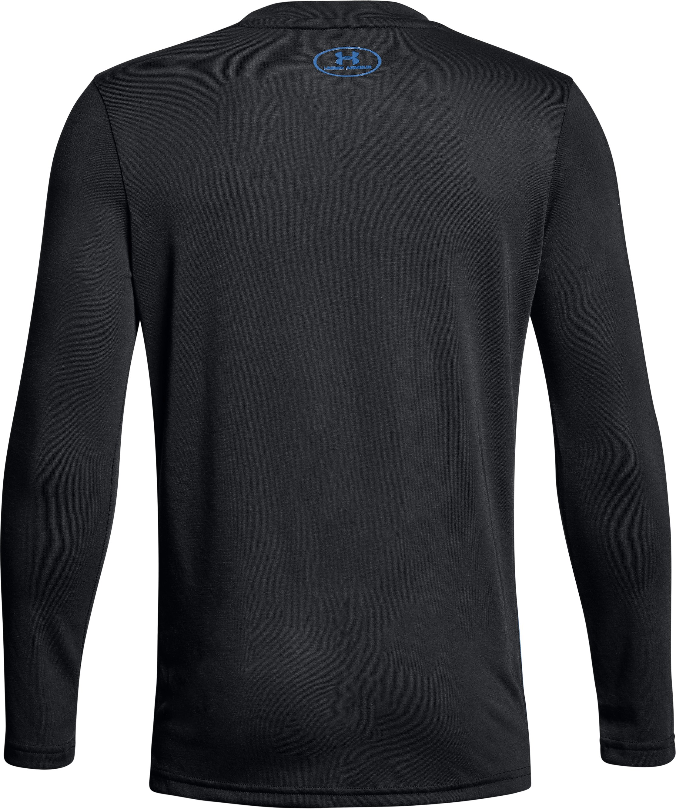 Boys' UA Siro Tech Long Sleeve, Black ,